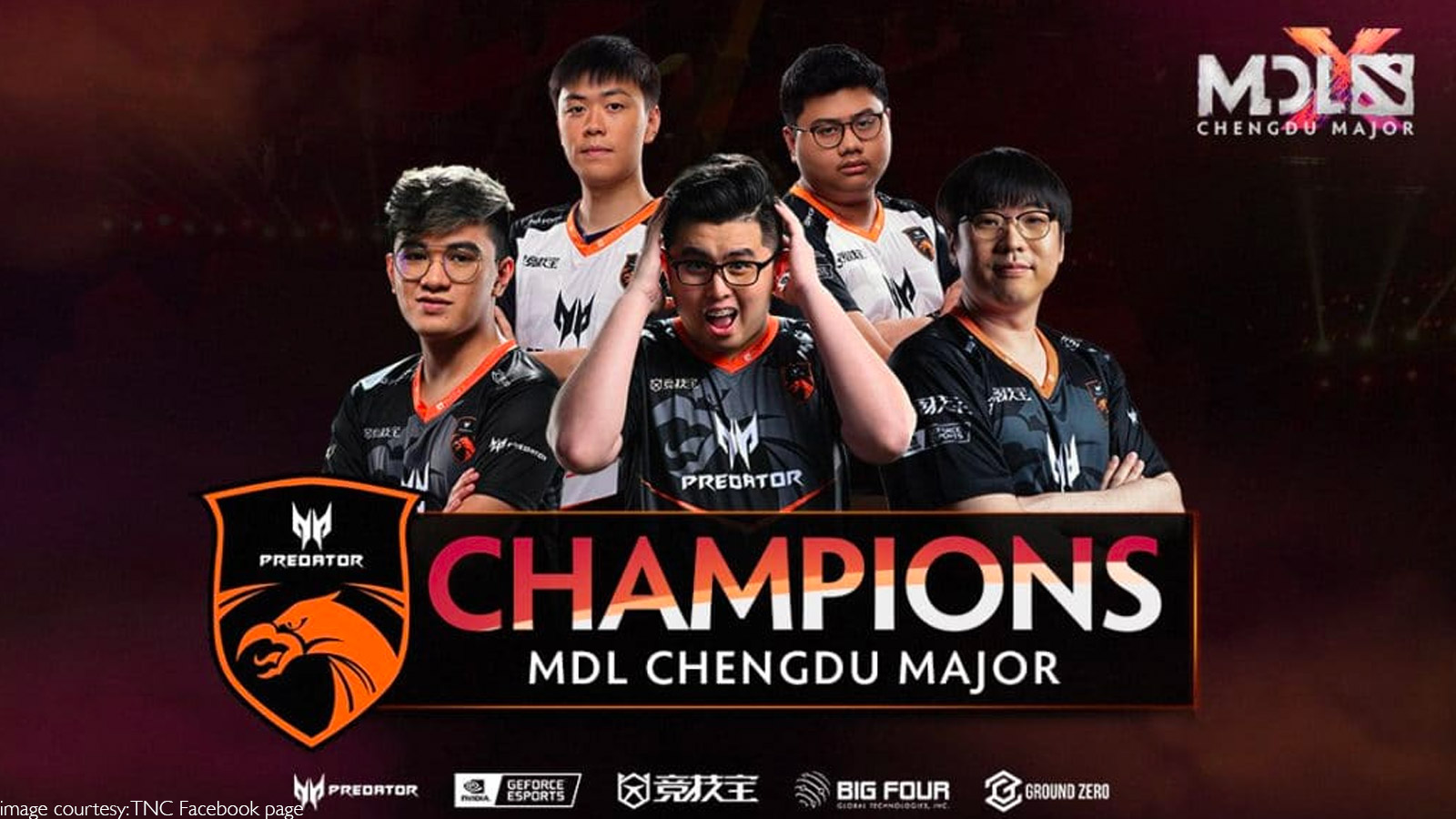 TNC Predator Make History With MDL Chengdu 2019 Major Win